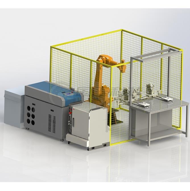 一整套激光焊接机器人多少钱?